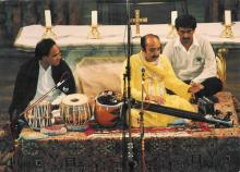 Dr Pandit Gokulotsavji at World Music Festival, Germany
